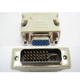 Overig DVI-I (M) naar VGA (F) (used)