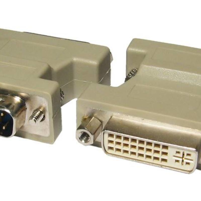Overig VGA (M)naar DVI-I (F)  (used)