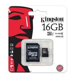 Kingston Kingston 16 GB SD/micro SD kaart HD U1