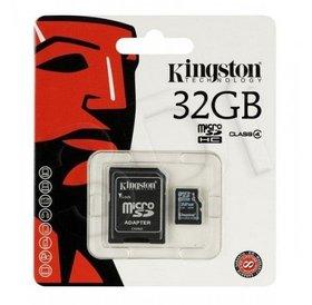 Kingston Kingston 32 GB Micro SD kaart met converter naar SD
