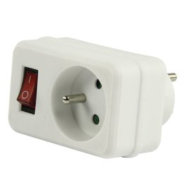 HQ HQ Switchable socket with 1 outlet 220v/16A