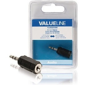 Value Line Value Line 3.5 mm Adapter 3.5mm male naar 2.5 mm female
