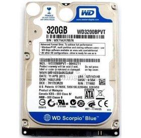 Overig Harde schijf 2,5 inch sata 320GB