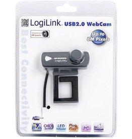 Logilink USB 2.0 Webcam met ingebouwde microfone 8 MP