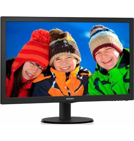 philips Philips 243V5L Black LED LCD moniror 23.6 inch