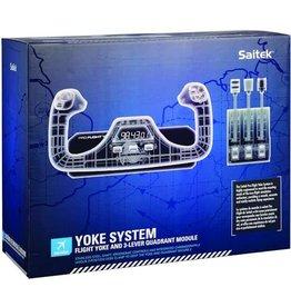 Logitech G Saitek Pro Flight Yoke Systeem Zwart PC
