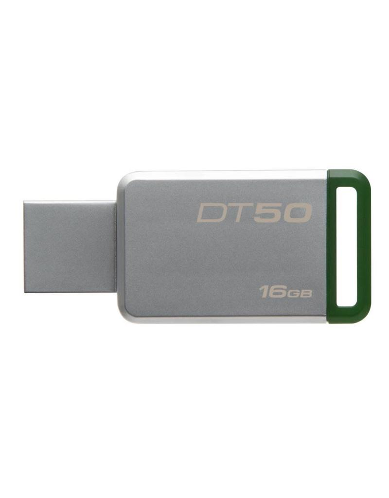 Kingston Kingston DataTraveler 50 Metalen behuizing USB 2.0 / 3.0 / 3.1