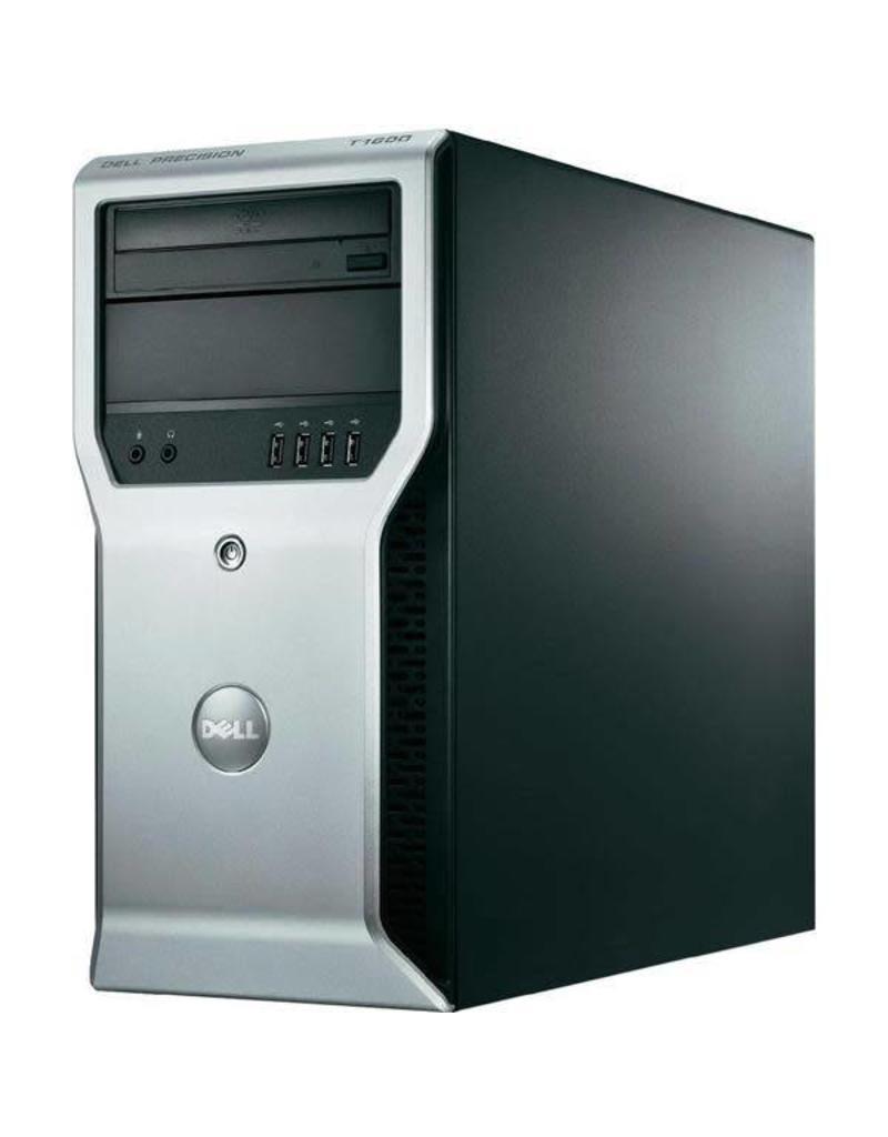 Dell Dell | Precision T1600 | Xeon | 8 GB Ram | SSD |  DVD speler en brander