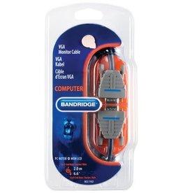 Bandridge VGA kabel 2 meter