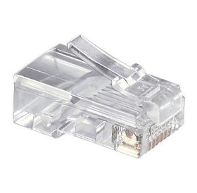 Netwerk connector RJ-45 RJ45 UTP stekker