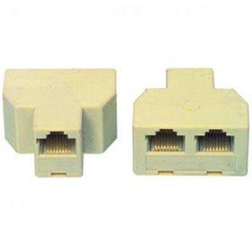 RJ45 Splitter van 2 naar 1 RJ-11 en RJ-45 ISDN en UTP
