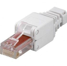Eenvoudig te monteren type UTP Cat.6 Modular Plug