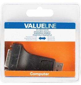 Valueline Display poort (M) naar DVI (F)