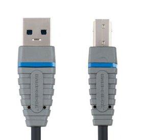 Bandridge Bandridge  USB A 3.0 (M) naar USB B 3.0 (M)