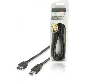 HQ HQ USB A 3.0 (M) naar USB 3.0 (F) 1.8 meter