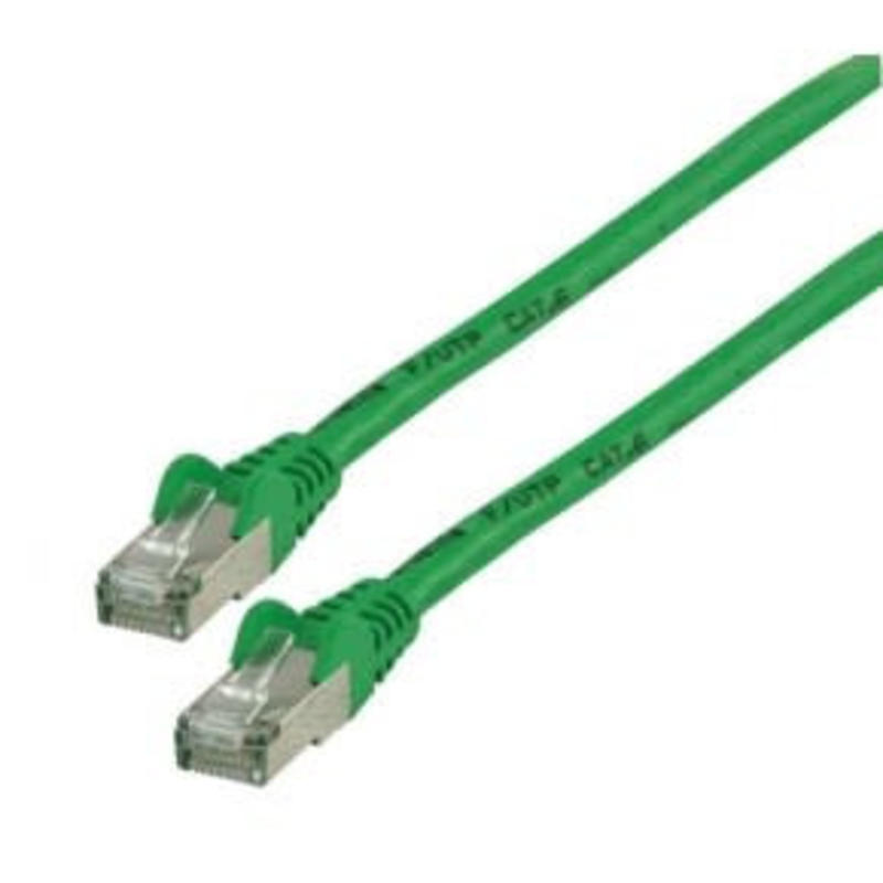 Value Line Cat 6 ethernet kabel 0,5 meter groen