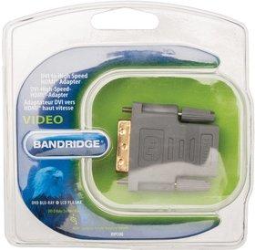 Bandridge Bandridge DVI (M) naar HDMI (F) adapter