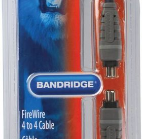 Bandridge Bandridge firewire kabel 2 meter