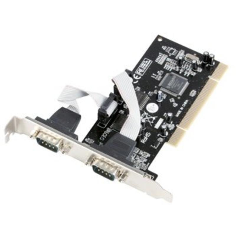 Konig Konig serial PCI kaart 2x Compoort