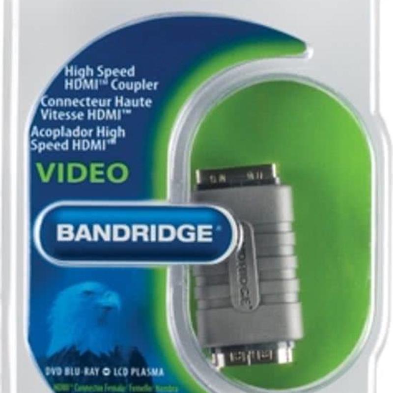 Bandridge HDMI verleng blokje HDMI koppelblokje