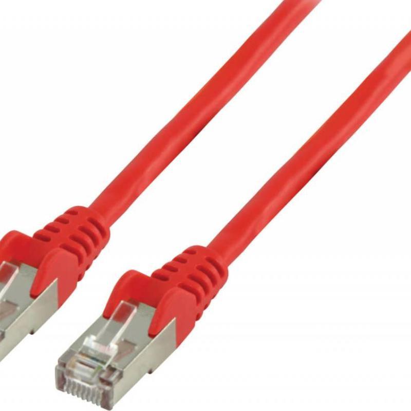 Value Line Valueline Cat 5e Ethernet kabel 0,25 M rood