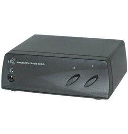 HQ Manual 2 port audio switch