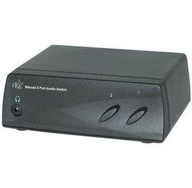 HQ Manual 2 port audio switch