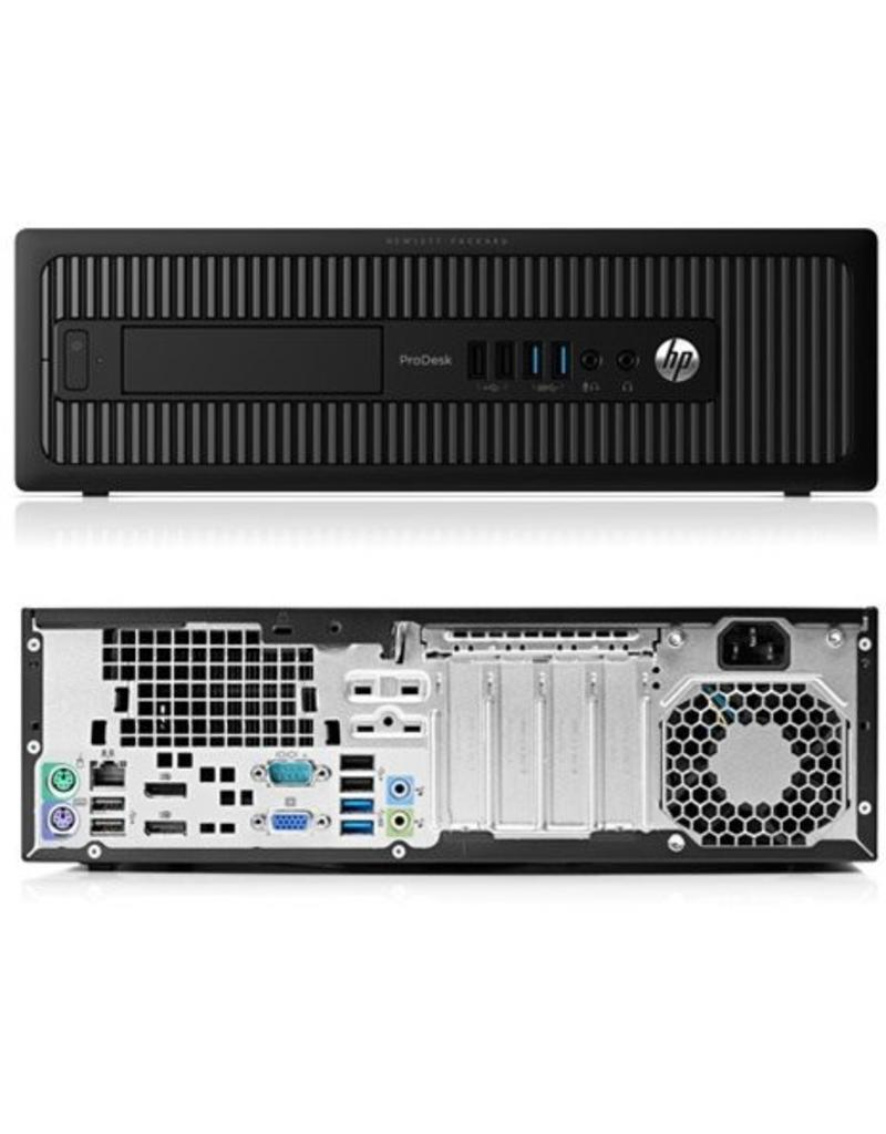 HP Prodesk 600 G2 SFF, Core I5, SSD, DDR4 Geheugen, USB 3.0