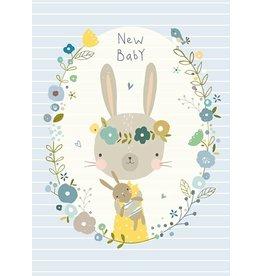 NIKKI UPSHER KAART 'NEW BABY'