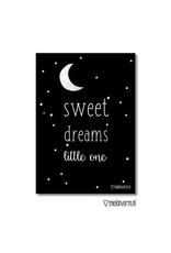 SWEET DREAMS MAAN A4 POSTER