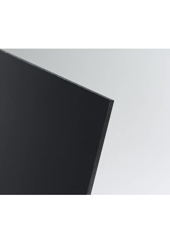 SIMONA Kunststoffplatte PE-HD 2000x1000x6 mm schwarz