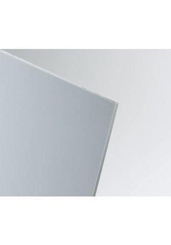 SIMONA Hart-PVC Kunststoffplatte Hellgrau