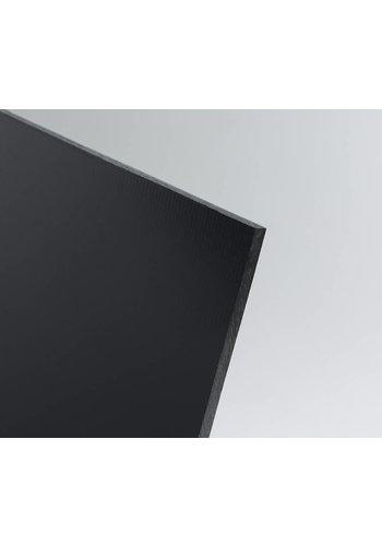 SIMONA Hart-PVC Kunststoffplatte Schwarz