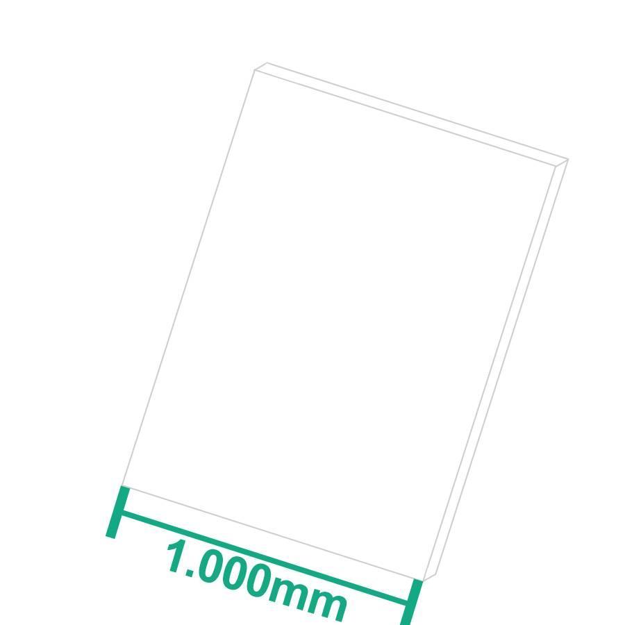 PE-HD Kunststoffplatte Schwarz