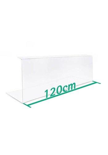 A+H Kunststoffe Spuckschutz 120 cm Typ 2