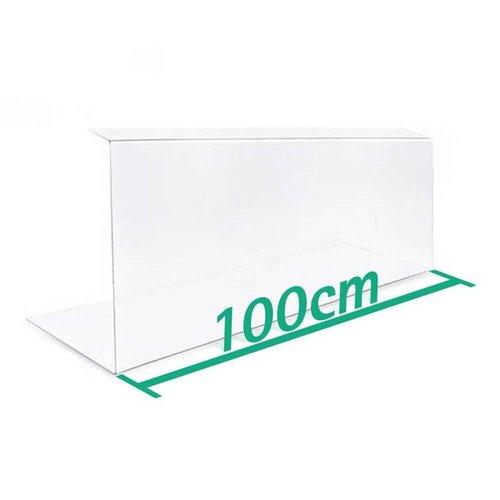 A+H Kunststoffe Spuckschutz 100 cm Typ 2
