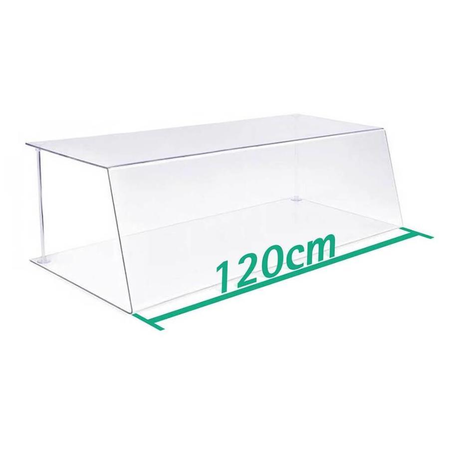120 cm | Spuckschutz | Typ 1 | 4-6 mm dick