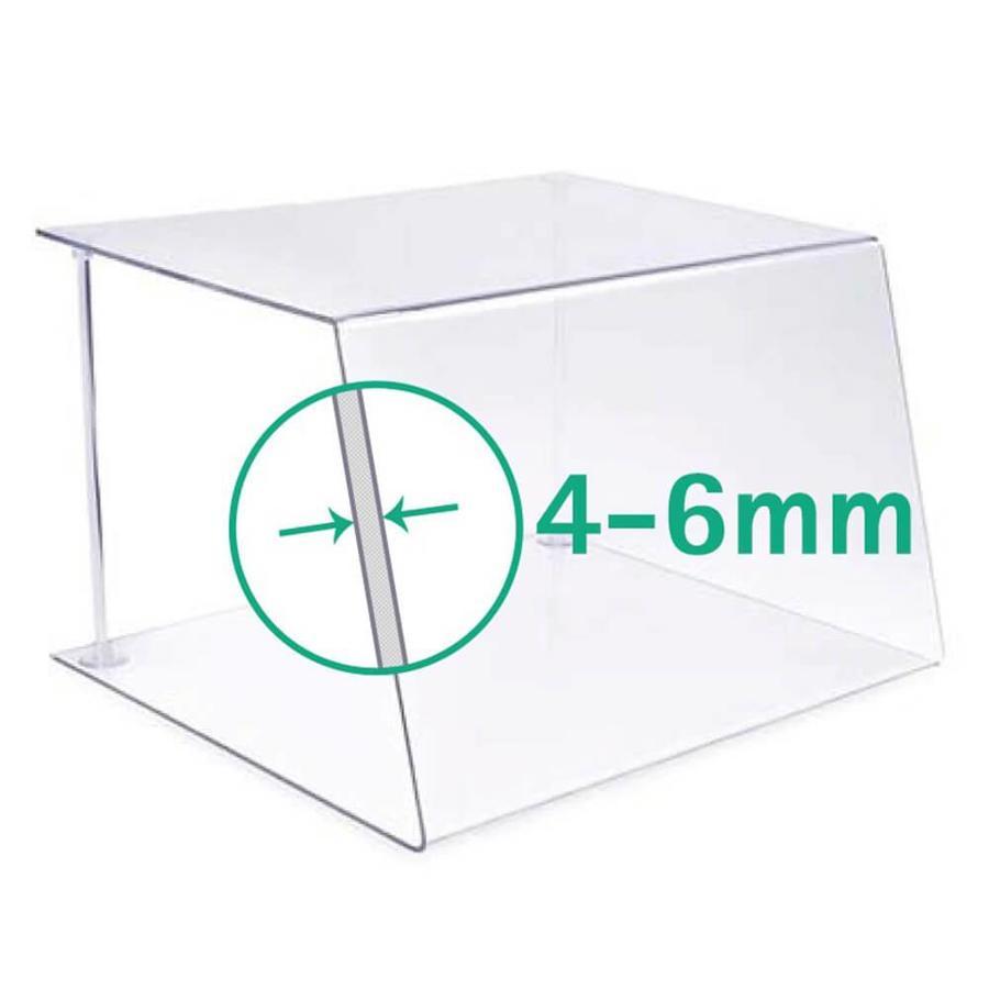 60 cm | Spuckschutz | Typ 1 | 4-6 mm dick