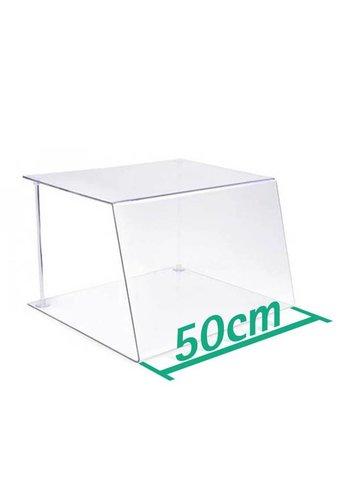 A+H Kunststoffe Spuckschutz 50 cm Typ 1