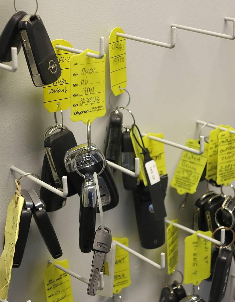 Sleutelkluis SSK/S-2 voor 300 - 600 sleutels of sleutelbossen