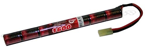 Component Shop 8.4v 1600mAh 2/3A NiMH Battery Stick Pack (7 Cells in Line)