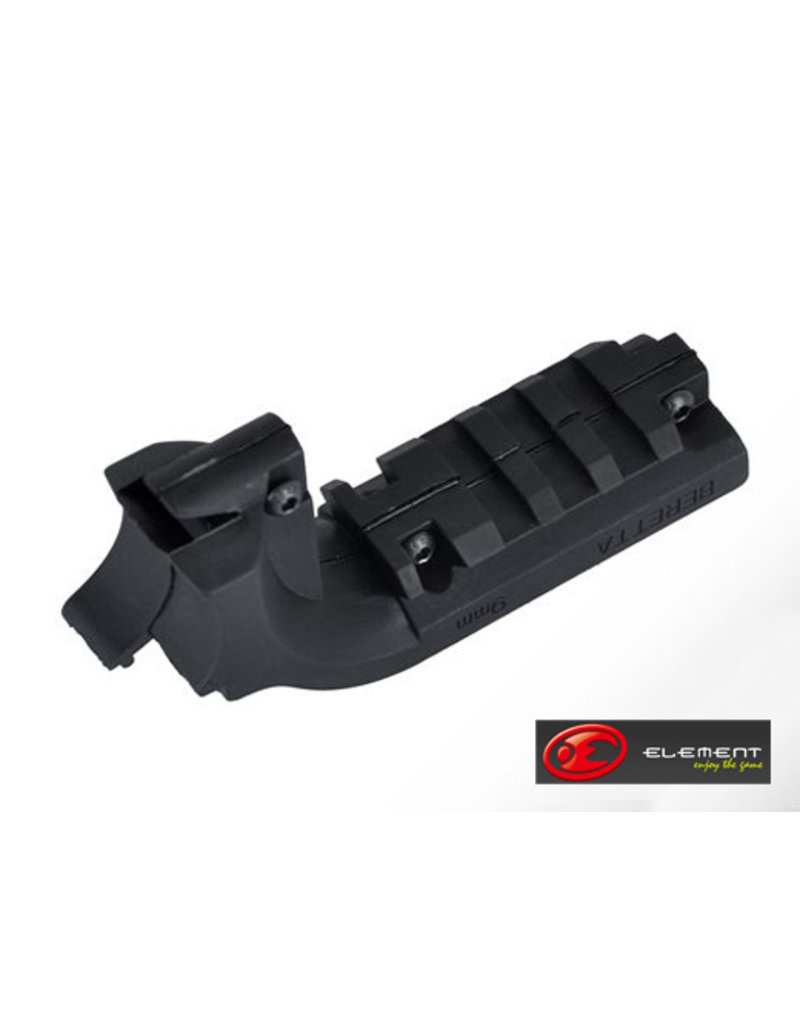Element Element under-rail RIS mount for Beretta. Allows the attachment of RIS mountable accessories.