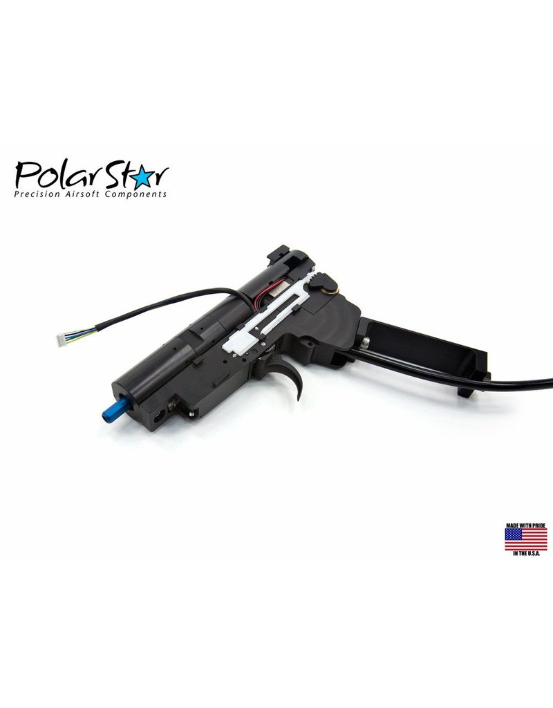 PolarStar Designed to answer the demands of today's hardcore airsoft player, the Fusion Engine is one of the most reliable, high performance airsoft systems available today. No matter if you need a high fire rate CQB setup or a high velocity sniper platform, the Fu