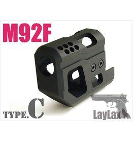 Laylax TOKYO MARUI M92F COMPENSATOR/SEMI LONG TYPE.C