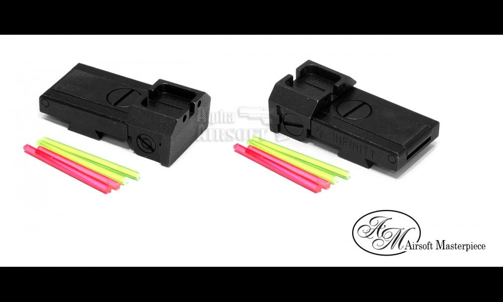 Airsoft Masterpiece Airsoft Masterpiece Rear Sight - Infinity marking sight