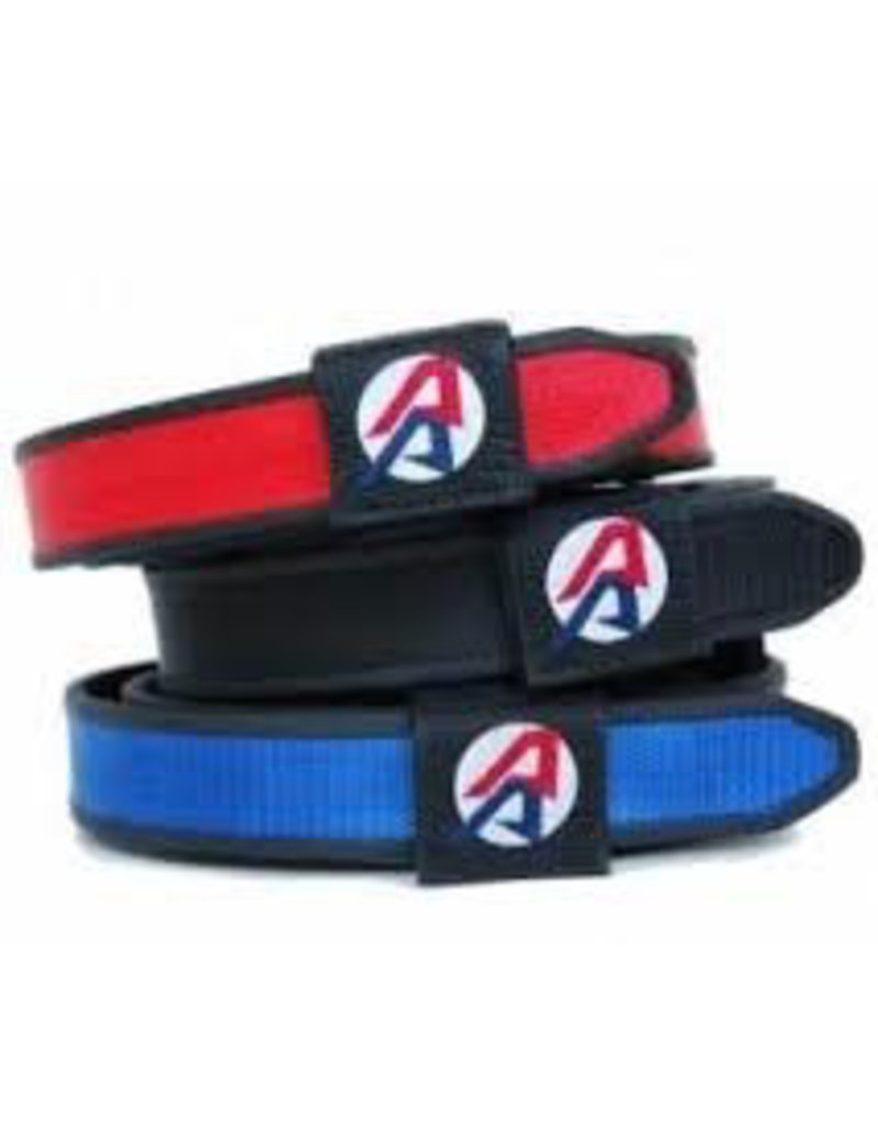"""Double-Alpha DAA Competition Belt 32"""" - Silver"""