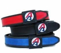 "Double-Alpha DAA Competition Belt 32"" - Silver"