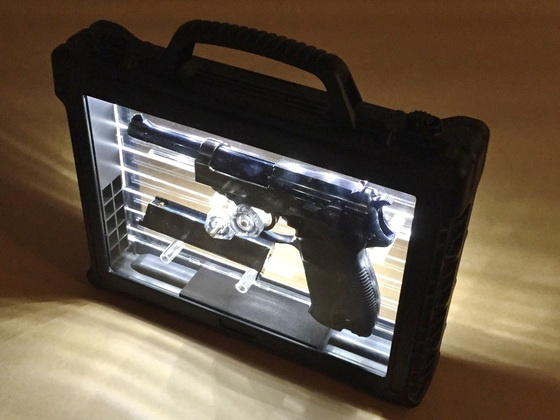 WE WE P38 GBBP (Full Metal with LED Case)