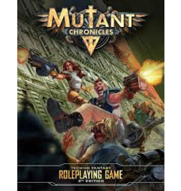 Modiphius Mutant Chronicles 3rd Edition RPG