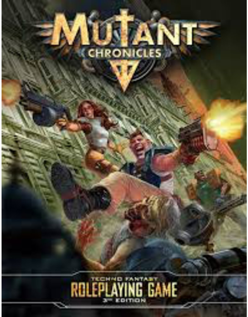Modiphius Mutant Chronicles 3rd Edition RPG